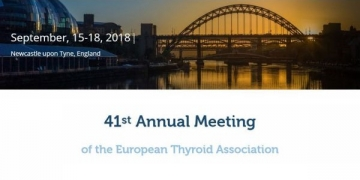 41st Annual Meeting of the European Thyroid Association arranca este sábado